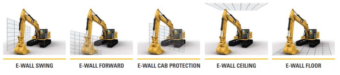 Cat 323 Excavator 2D Fence Technology